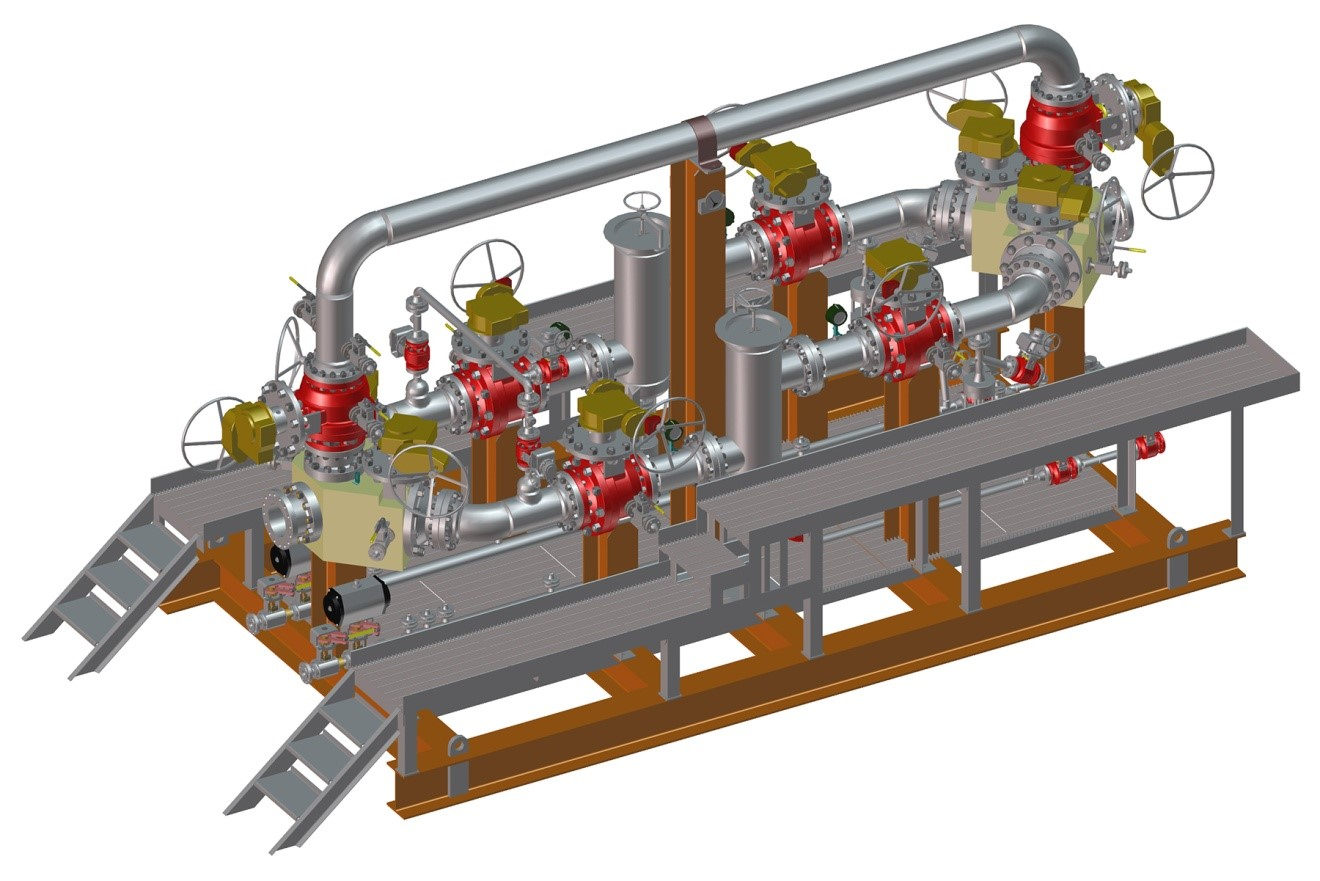 MOGAS modular unit (skid).