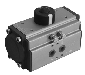 MOGAS pneumatic actuator