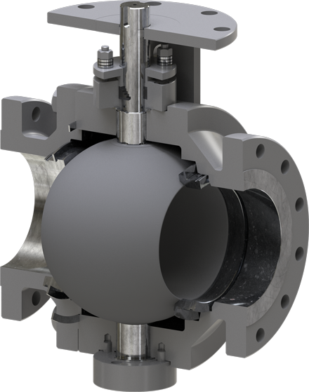 MOGAS T-Series Trunnion Valve