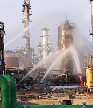 ethylene oxide explosion