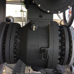 T-Series valve install for 1-butene production