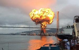 Styrene explosion